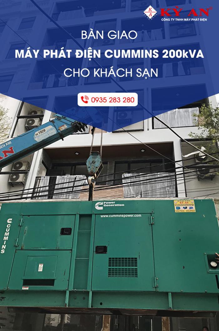 ban-giao-may-phat-dien-Cummins-200-kVA-cho-khach-san